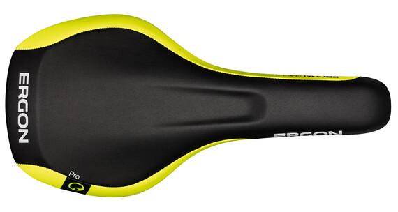 Ergon SME3-S Sattel Pro black/laser lemon